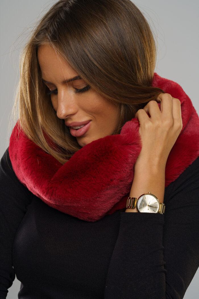 Najnowsza kolekcja futrzanych szalików zima 2020